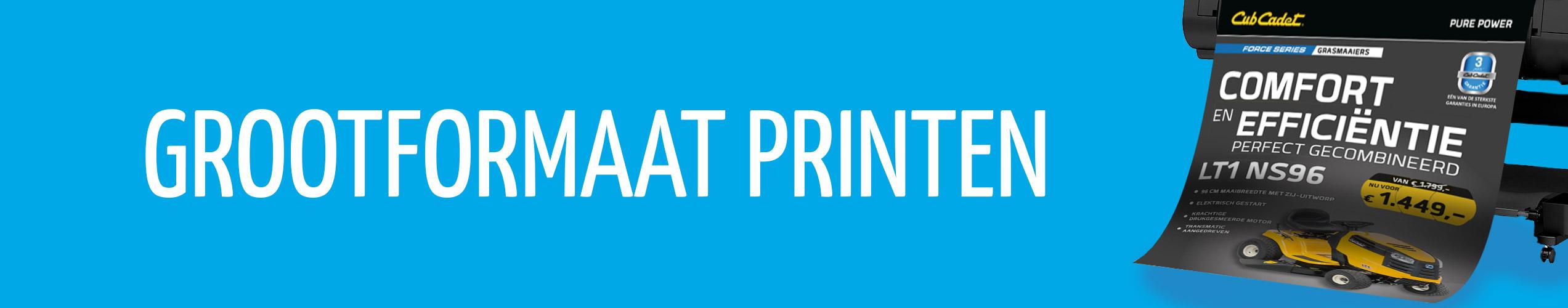 Grootformaat printen