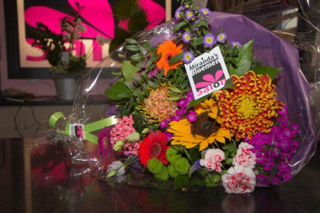Miranda's bloemen