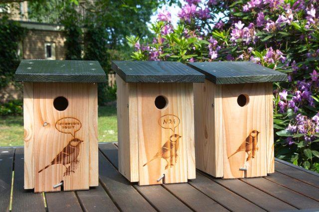 vogelhuisje met mogelijkheden